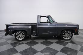 1979 Chevrolet C10 | Streetside Classics - The Nation's Trusted ... 1992 Chevrolet Ck 1500 Series Stepside Silverado Stock 111058 For Sold 1976 C10 Pickup Truck Sale By Auto 1962 Chevrolet Ton Patina Shop Truck Hot Rat Rod C20 Longbed Amazoncom Jada Bigtime Kustoms 1955 Chevy 1 1985 New Show Street 8898 Full Size Gmcchevy Stepside Avs 1975 K10 4x4 Manual 350 V8 Classic 57 Inspirational 1957 Built 1967 Chevy Monster Pickup Restoration Wikipedia 3d Manly Key Rack W 5 Hooks And Bed Franklin Mint 124 Scale