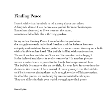 Beata Ryden Finding Peace