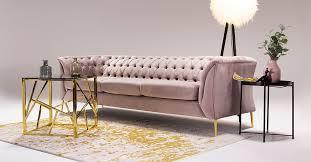 sofas und sessel in rosa unsere 6 vorschläge für ein modernes wohnzimmer