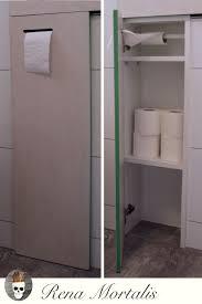 diy unterputzschrank für toilettenpapier selber bauen