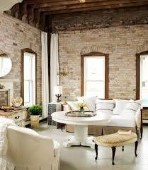 Original Features Exposed Wooden Beams And Brick