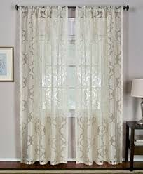 Brylane Home Sheer Curtains by Better Homes And Gardens Tapestry Sheer Curtain Panel Sage Ish