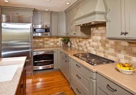 Kitchen Backsplash Designs With Oak Cabinets by Kitchen Backsplash Ideas For Kitchen Using Glass Tile Backsplash