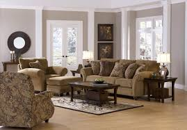 Best Fabric For Sofa Set by Floral Pattern Brown Wallpaper Come With Round Gray Wooden Printed