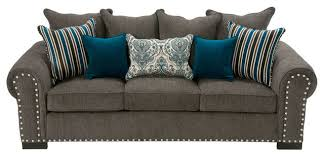 Bernhardt Upholstery Brae Sofa by Aquarius Contemporary Living Room San Diego By Jerome U0027s