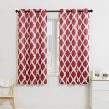 Kohls Grommet Blackout Curtains by Vcny 2 Pack Tribeca Diamond Blackout Window Curtains