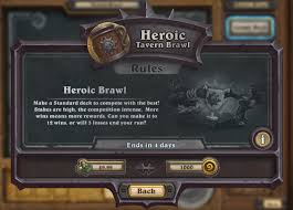 Hunter Hearthstone Deck Basic by Hearthstone Heroic Tavern Brawl Deck Lists And Information