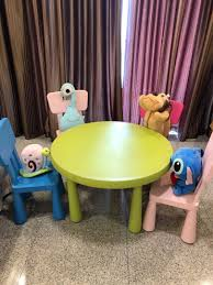 IKEA Children's Table N Chairs, Furniture, Tables & Chairs On Carousell Childs Table Highback Chairs Briar Hill Fniture Fding Childrens Tables And Lovetoknow Gtzy003 Antique Children And Kindergartenday Care Lifetime Lime Green Pnic Table60132 The Home Depot Chair Plastic Diy Kids Set Play Toddler Activity Blue Adjustable Study Desk Child W Zoomie Kirsten 3 Piece Wayfair Childs Table Chair Craft Boy Amazoncom Wal Front 2 Etsy Labe Wooden With Box Little Bird Liberty House Toys Butterfly Baby Store