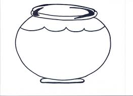 Fish Bowl Coloring Page Printable Throughout