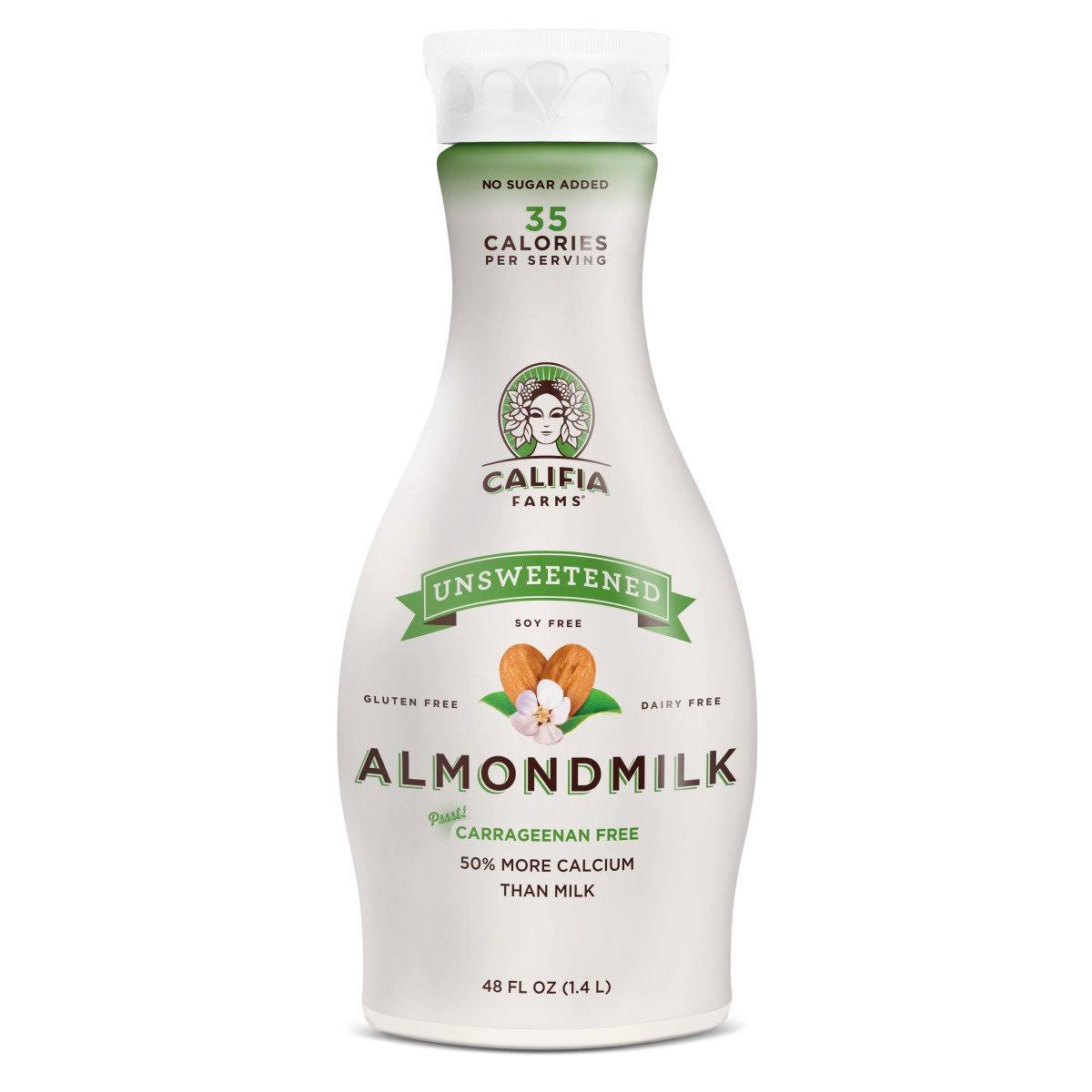 Califia Farms Unsweetened Almond Milk - 48oz