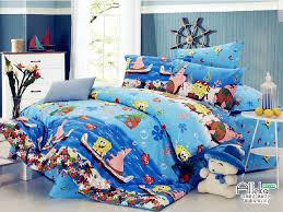 blue spongebob kids bedding boys bedding sets