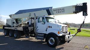 100 National Boom Truck 18142 40Ton Crane On Sterling CranesList ID