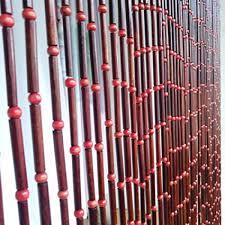 de guowei perlenvorhang türvorhang bambus holz