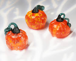 Glass Blown Pumpkins by Make Your Own Glass Corning Museum Of Glass