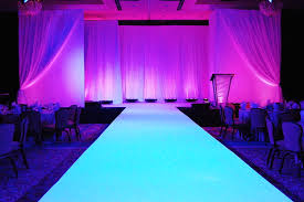 Runway To Glow All White Ignore Stage Backdrop In This Picture Project RunwayDiy Fashion Show