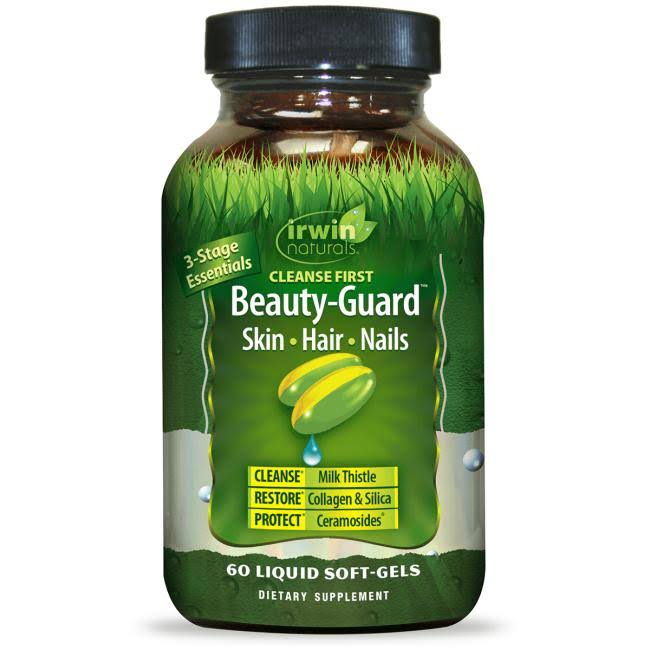 Irwin Naturals - Cleanse First Beauty-Guard - 60 Softgels