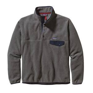 Patagonia Men's Lightweight Synchilla Snap-T Pullover, Grey, L