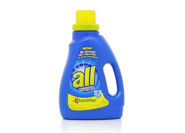 All Ultra Stainlifter Liquid Laundry Detergent - 33 Loads, 50oz