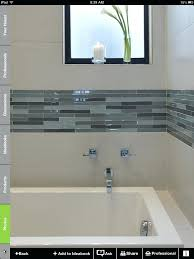 border tiles for bathrooms accentuating black border tiles on the