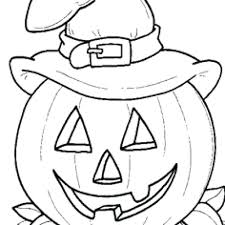 Free Halloween Printable Coloring Pages For Adults Blank Pumpkin Print Pumpkins Easy Online Full Size