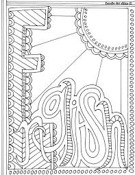 Picture English Coloring Page