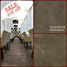 100 Flint Stone For Sale Clever Click PVC Flooring Pvc Cladding Click