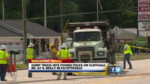 Fayetteville Road Reopens Hours After Dump Truck Hits Power Pole ... Used Single Axle Dump Trucks For Sale In Nc Truck For Sale In North Carolina 2001 Gmc 3500hd 35 Yard By Site Youtube Hickory Fancing Loans Cag Capital Owner Beautiful Pre Trip Select Greensboro New Car Models 2019 20 Freightliner From Triad Used 2007 Intertional 5500i Dump Truck For Sale In Nc 1287 Chevy Cars Trucking And Hauling