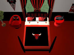 mod the sims chicago bulls bedroom for cja1113