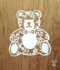 3 X TEDDY BEAR DESIGNS