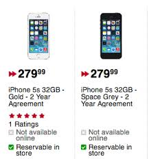 Future Shop Best Buy Price Drop 32GB iPhone 5s to $279 99 on