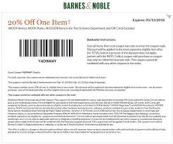 Barnes & Noble Coupons - 20% Off A Single Item At Barnes & Noble Buybaby Does 20 Coupon Work On Sale Items Benny Gold Patio Restaurant Bolingbrook Code Coupon For Shop Party City Online Printable Coupons Ulta Cologne Soft N Dri Solstice Can You Use Teacher Discount Barnes And Noble These Are The Best Deals Amazon End Of Year Get My Cbt Promo Grocery Stores Orange County Ca Red Canoe Brands Pier 1 Email Barnes Noble Code 15 Off Purchase For 25 One Item