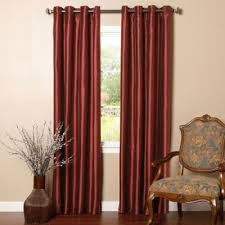 Burgundy Grommet Blackout Curtains by Buy Burgundy Curtains From Bed Bath U0026 Beyond