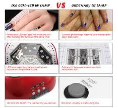 Induction Lamps Vs Led by Aliexpress Com Buy 48w Nail Dryer Polish Machine Ccfl Uv Lamp