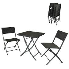 Soges 3 Pieces Folding Bistro Set Outdoor Patio Furniture Wicker Bar Set  Foldable Table And Chairs Conversation Set Small Balcony Furniture, ... Oakville Fniture Outdoor Patio Rattan Wicker Steel Folding Table And Chairs Bistro Set Wooden Tips To Buying China Bordeaux Chair Coffee Fniture Us 1053 32 Off3pcsset Foldable Garden Table2pcs Gradient Hsehoud For Home Decoration Gardening Setin Top Elegant Best Collection Gartio 3pcs Waterproof Hand Woven With Rustproof Frames Suit Balcony Alcorn Comfort Design The Amazoncom 3 Pcs Brown Dark Palm Harbor Products In Camping Beach Cell Phone Holder Roof Buy And Chairswicker Chairplastic Photo Of Green Near 846183123088 Upc 014hg17005 Belleze