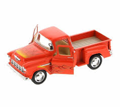 Kinsmart 1955 Chevrolet Stepside Pickup W/ Flames 1:32 Diecast Toy ... Kinsmart 1955 Chevrolet Stepside Pickup W Flames 132 Diecast Toy Dodge Ram Camper Black 5503d 146 Scale Kirpalanis Nv Truck Vehicles Toys Pamaribo Free Shipping New Ford F150 Raptor Truck Alloy Car Toy Motormax 1992 Chevy 454ss 1 24 Scale Metal 5100 Off Road Orange 124 Pull Back Splatter Mini Party City Eco Friendly Pick Up Is Made From Bamboo Rockstar Energy Monster By Malibu Youtube Amazoncom Yellow Pickup Die Cast Colctible