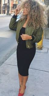 Bomber Jackets Are So Cute For Winter Date Night Outfits