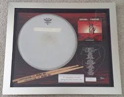 Smashing Pumpkins Zeitgeist Vinyl by Memorabilia Monday Jimmy Chamberlin Drum Head The Official