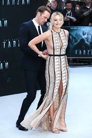 Alexander Skarsgard Saves Margot Robbie From Wardrobe Malfunction