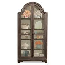 Pulaski Glass Panel Display Cabinet by Riverside Furniture Verona Display Cabinet Hayneedle