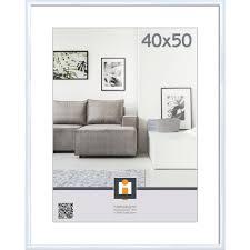 xxxlutz bilderrahmen weiß 118015 kunststoff glas 40x50 cm matt klar 0043420099