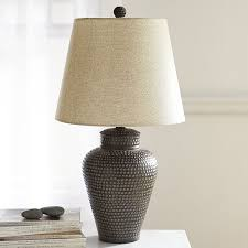 Hammered Bronze Table Lamp