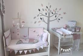 chambre grise et poudré sur commande decoration chambre bebe fille poudre gris vieux et