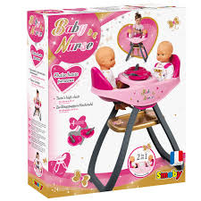 Smoby Children's Doll Twin Seat Highchair & Rocker   Buydirect4U Wooden Baby Doll High Chair Toy For Dolls Ojcommerce Adora Pink Feeding 205 Inches Krabatse High Chair Snuggles S Feadora Tiny Harlow August Lane Jonti Craft Traditional Timorous Beasties Antique German Wood Play Table Late 19th Ct Eddy Olivias Little World Princess Amazoncom Butterfly Closet Fniture Fits Modern By Hipkids Hip Kids Twins Highchair Twin Dinner Time Nenuco