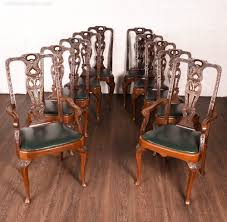 Set Of 10 Impressive High Back Carved Chairs - Antiques Atlas Rare Antique 19th Century American Gothic Handcarved Solid Oak High Back Black Leather Upholstered His Her Throne Chairs Vintage Handcarved Cane Highback Hooded Chair Set Of 8 62 Arts And Crafts Carved Oak Ding Chairs High For Kitchen Table Spanish Conquistador Contemporary Carved Wood Side 43 Sandy Brown Linen Natural Cedar Accent 31092775 About Us Italian Renaissance Style 20th Cent Mahogany Throne Chair With Lion Arms A Back Crest Stretcher Brown Country Armchair C Spning Bedroom Seating Russian Arm Newel Bishops Occasional Blue Lion