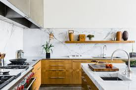 A Dallas Dream House Designed By Tod Williams Billie Tsien Architects Features This Stunning Kitchen With Custom Cabinetry And Marble Backsplash