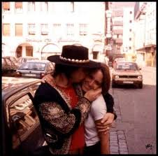 Stevie Ray Vaughan And His Wife