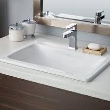 Kohler Archer Pedestal Sink by Bathroom Rectangle Kohler Archer Sink With Round Table Mirror