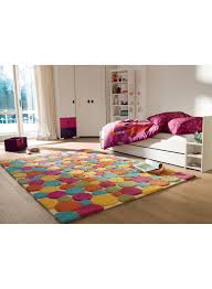 tapis de chambre tapis chambre enfant colore color drops multicolore de la collection
