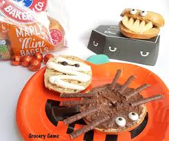 Halloween Pretzel Sticks by Grocery Gems New York Bakery Co Maple Mini Bagels U0026 Easy