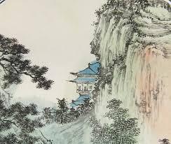 Japanese Mountain Paintings